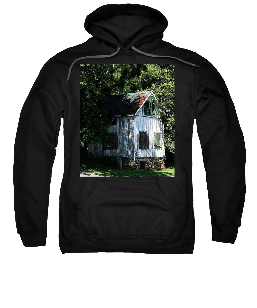 Residence Sweatshirt featuring the photograph Where The Heart Is by Phil Cappiali Jr