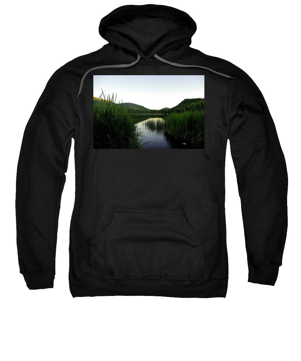 Wilgress Sweatshirt featuring the photograph Wilgress Evening by John Greaves