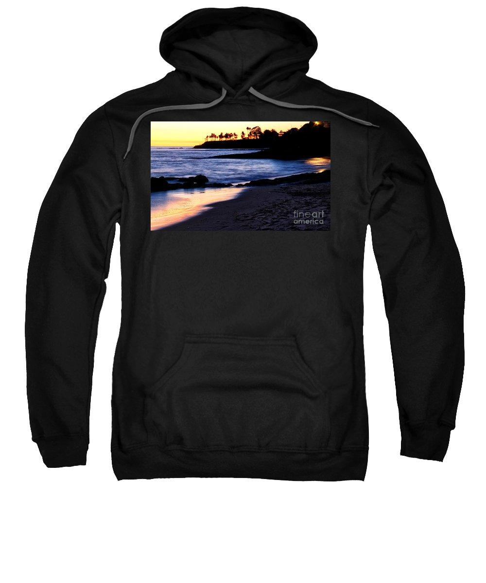 Winter Sweatshirt featuring the photograph Winter Sunset In Laguna Beach II by Mariola Bitner