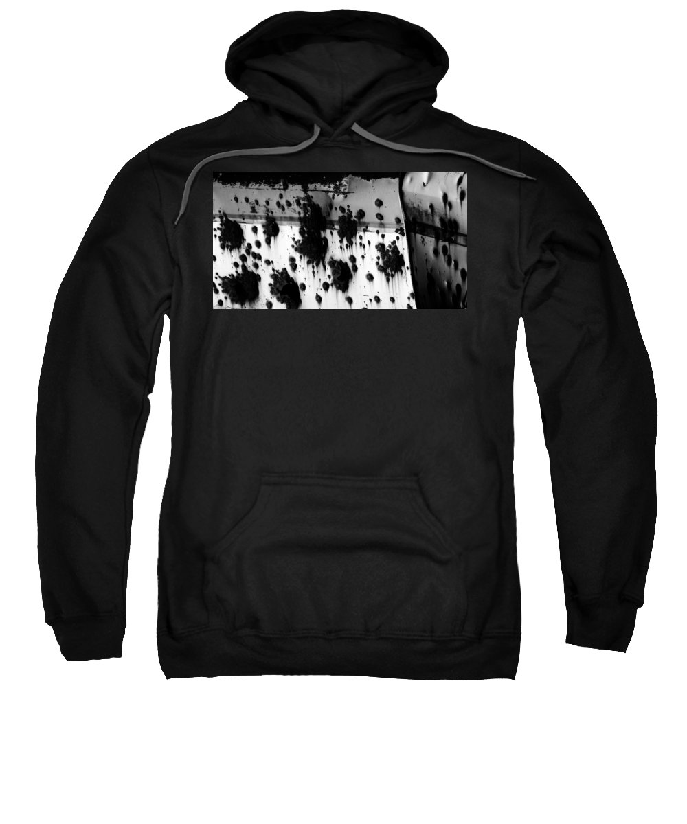 Black Sweatshirt featuring the photograph Wounds That Wont Heal by Jessica Shelton