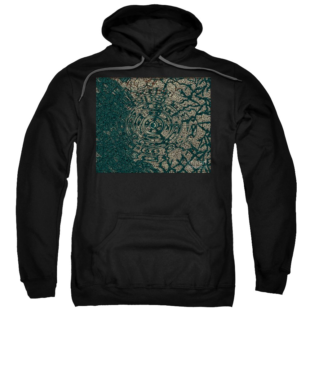 Woven Sweatshirt featuring the photograph Woven Dreams by Joseph Baril