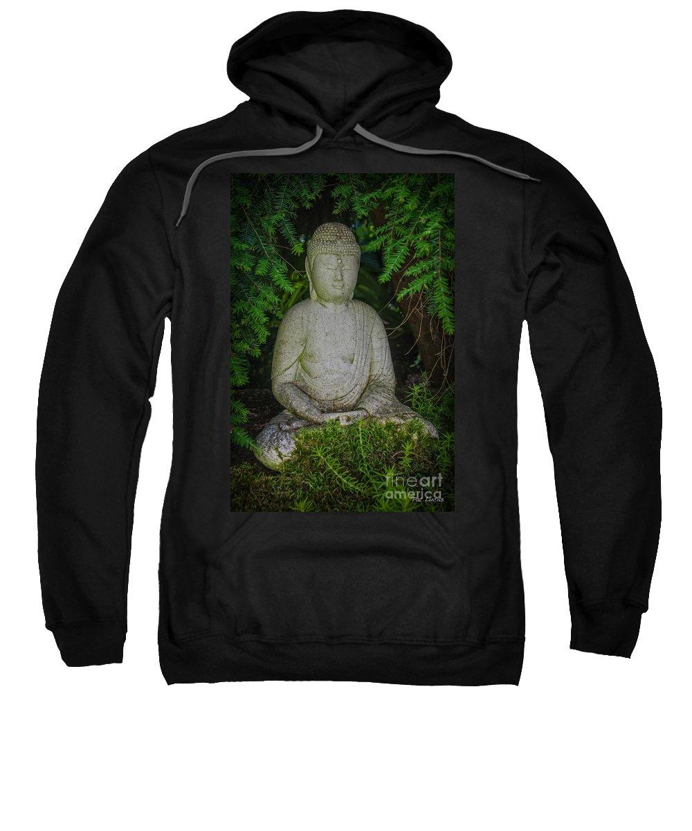 Zen Sweatshirt featuring the photograph Zen Buddha by Pat Lucas