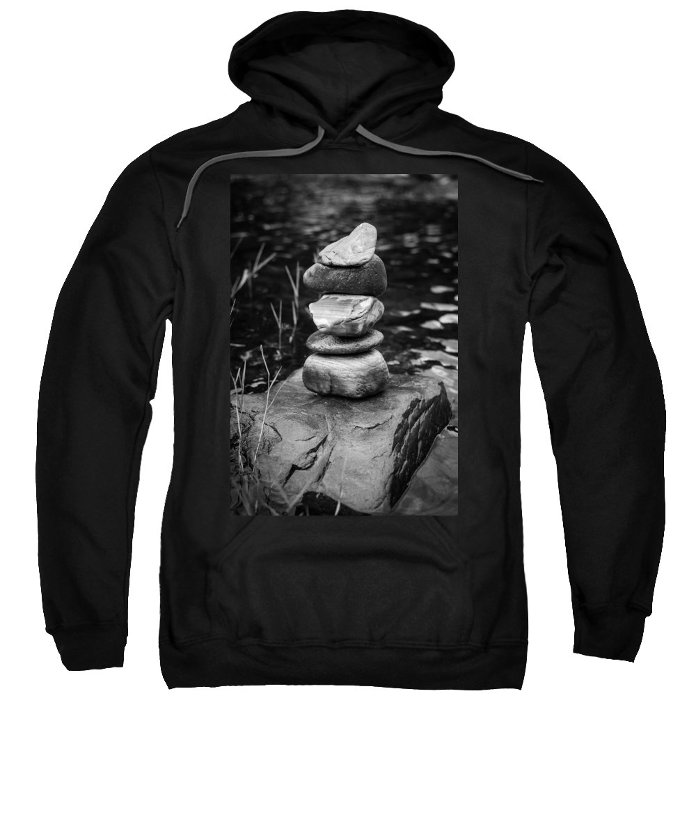 River Sweatshirt featuring the photograph Zen River Vii by Marco Oliveira