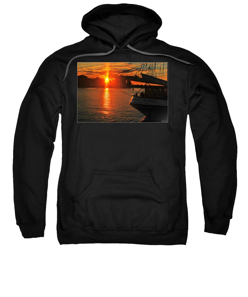 Sweatshirt featuring the photograph 001 Empire Sandy Series by Michael Frank Jr