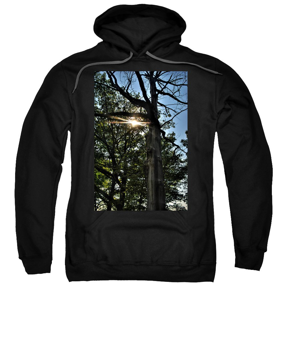 Sweatshirt featuring the photograph 005 Niagara Gorge Trail Series by Michael Frank Jr