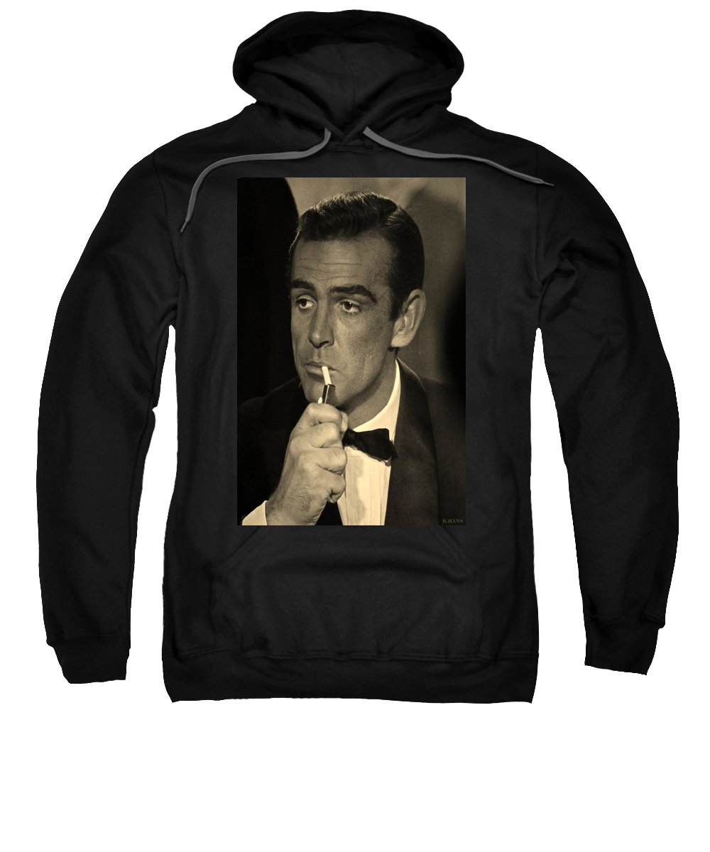 James Bond Sweatshirt featuring the photograph 007 by Rob Hans