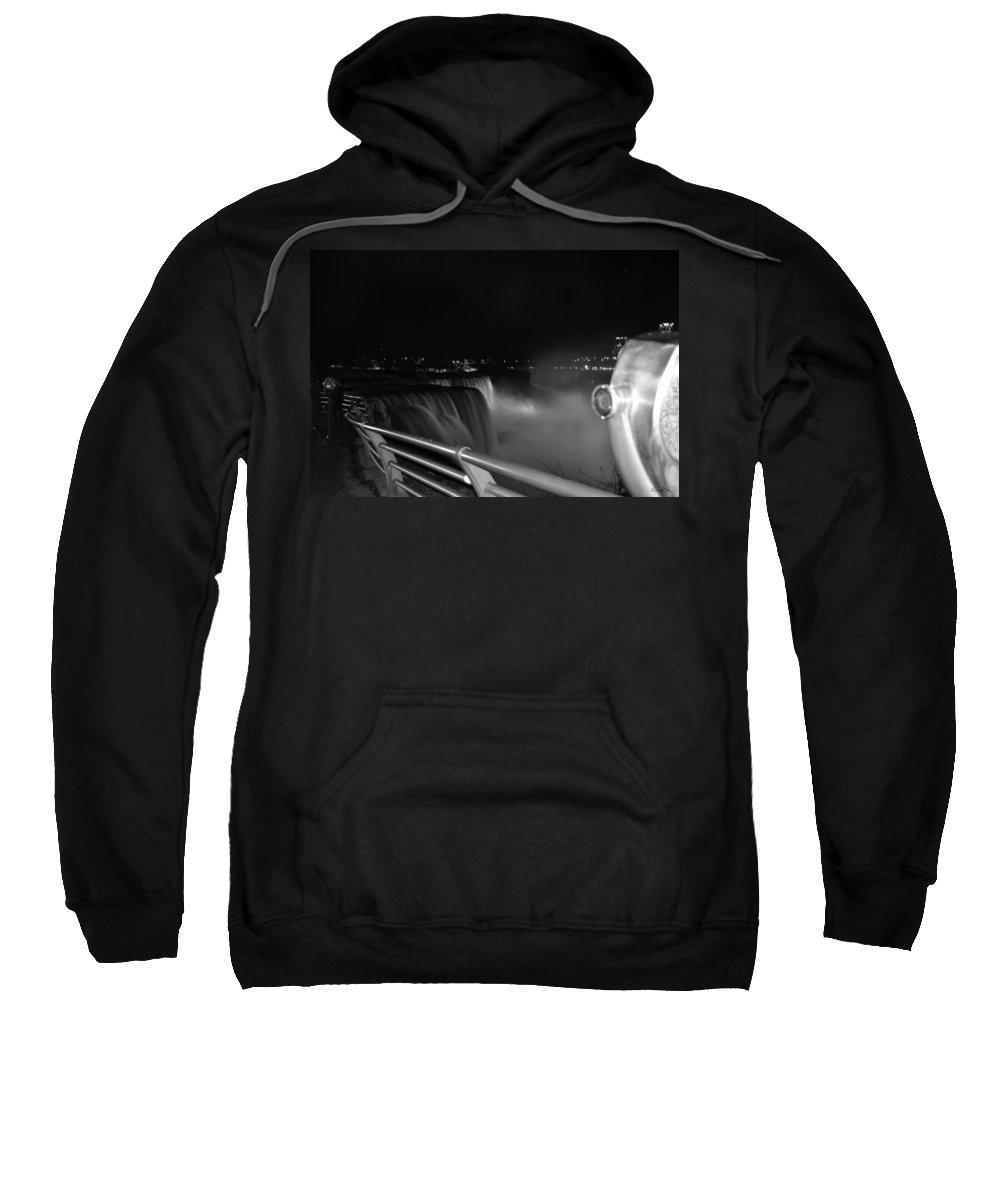 Sweatshirt featuring the photograph 02 Niagara Falls Usa Series by Michael Frank Jr