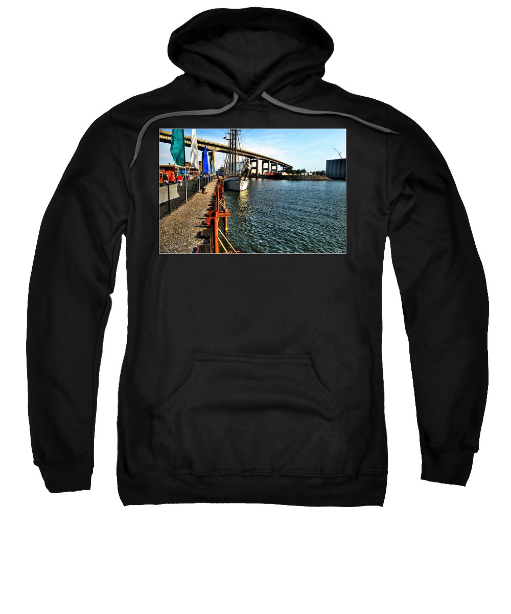 Sweatshirt featuring the photograph 022 Empire Sandy Series by Michael Frank Jr