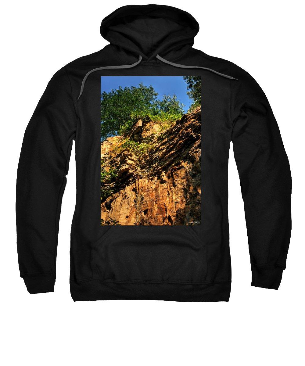 Sweatshirt featuring the photograph 023 Niagara Gorge Trail Series by Michael Frank Jr