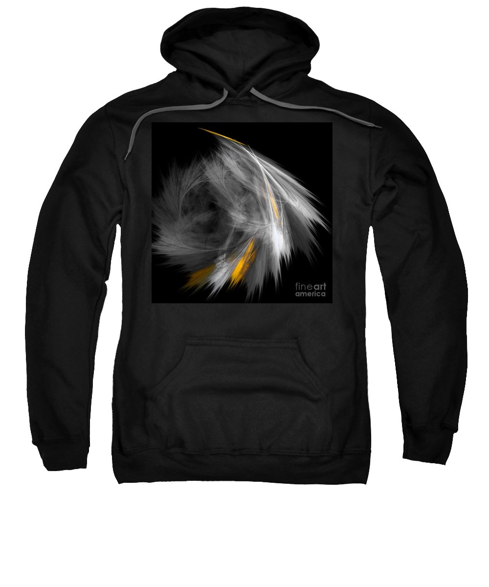 Fractal Digital Art Sweatshirt featuring the photograph Abstract 156 by Mike Nellums