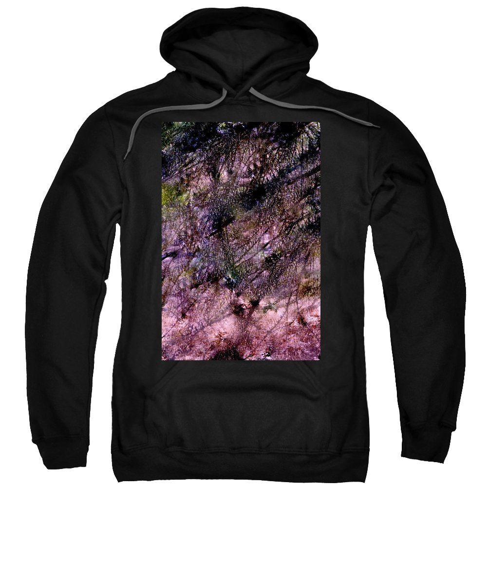 Abstract Sweatshirt featuring the photograph Abstract 85 by Pamela Cooper