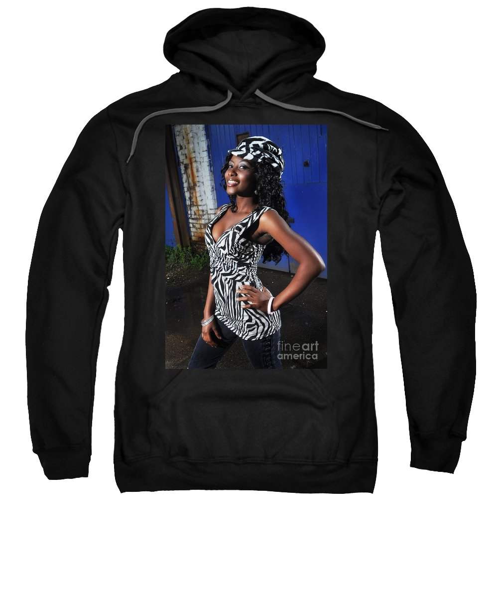 Yhun Suarez Sweatshirt featuring the photograph Bel8.0 by Yhun Suarez