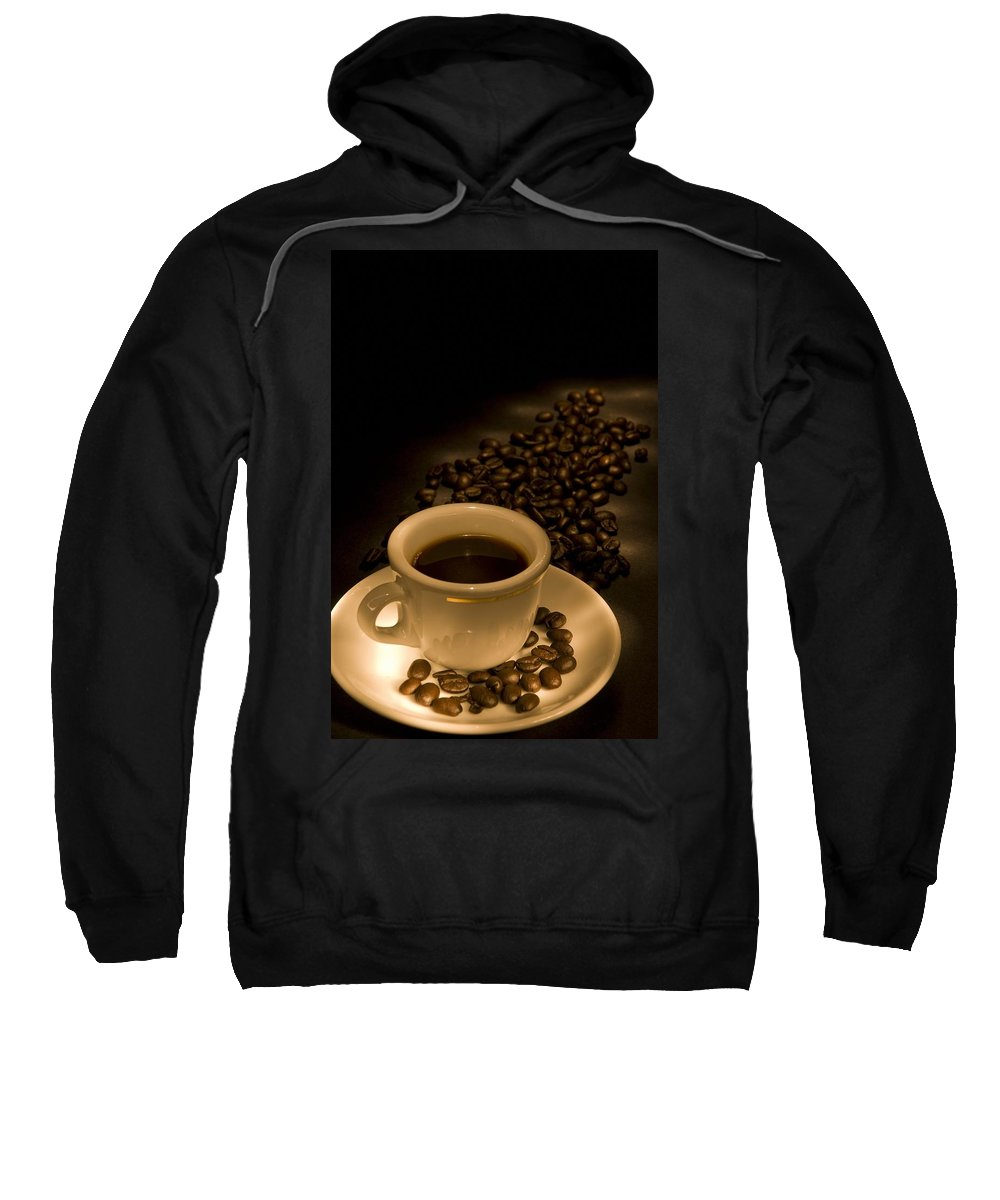 Beans Sweatshirt featuring the photograph Calgary, Alberta, Canada Coffee Beans by Philippe Widling