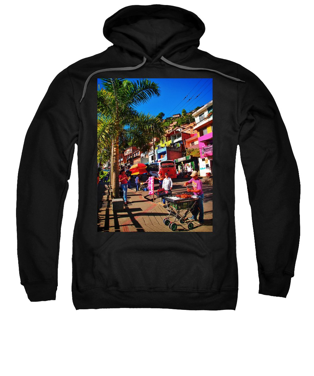 Candy Man Sweatshirt featuring the photograph Candy Man by Skip Hunt