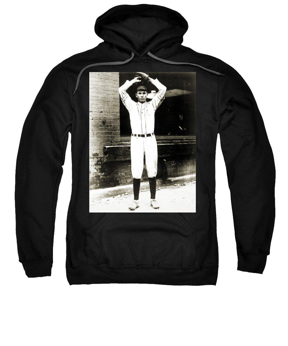 1920s Sweatshirt featuring the photograph Dizzy Dean (1911-1974) by Granger