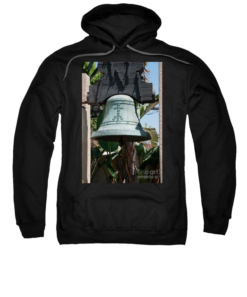 Bell Sweatshirt featuring the digital art El Pueblo De Los Angeles by Carol Ailles
