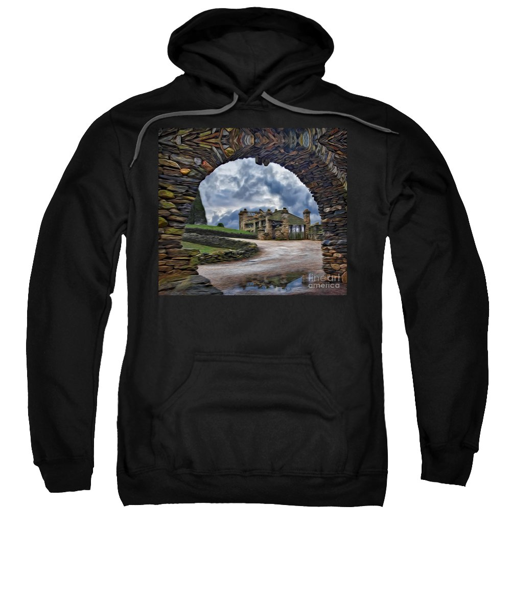 Grand Central Station Sweatshirt featuring the photograph Grand Central Station by Susan Candelario