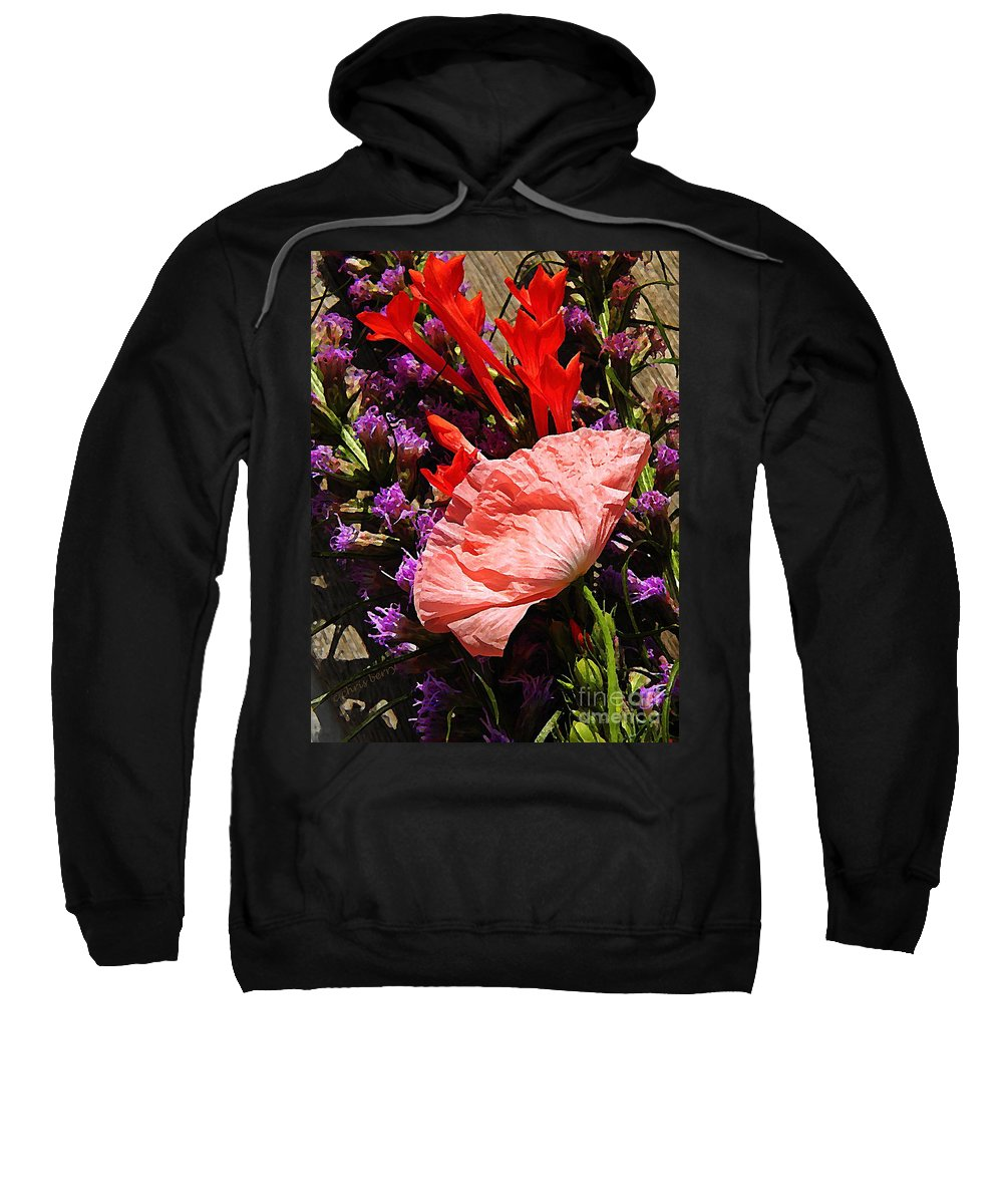 Nature Sweatshirt featuring the photograph Latecomer by Chris Berry