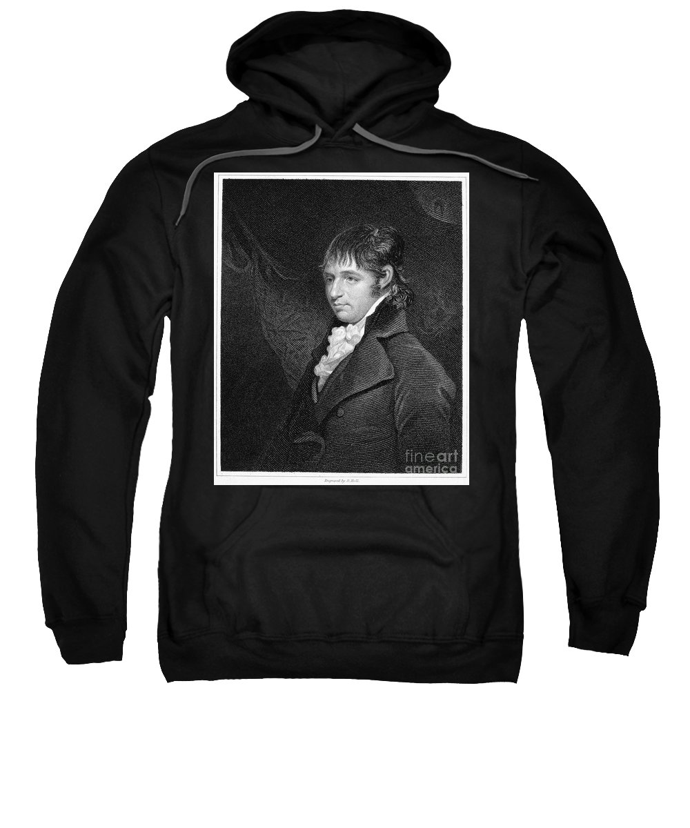 18th Century Sweatshirt featuring the photograph Richard Porson (1759-1808) by Granger