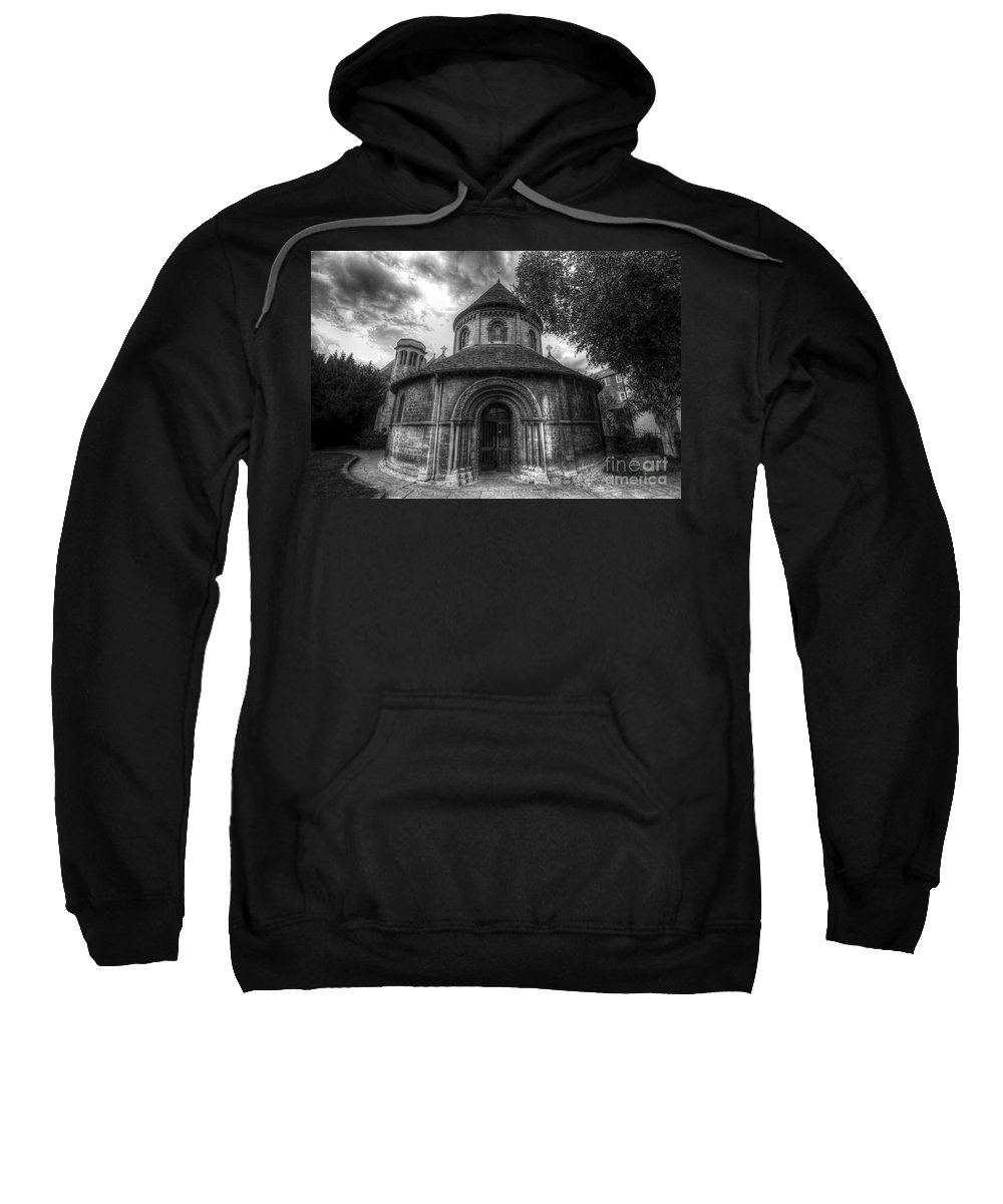 Art Sweatshirt featuring the photograph Round Church Of The Holy Sepulchre by Yhun Suarez