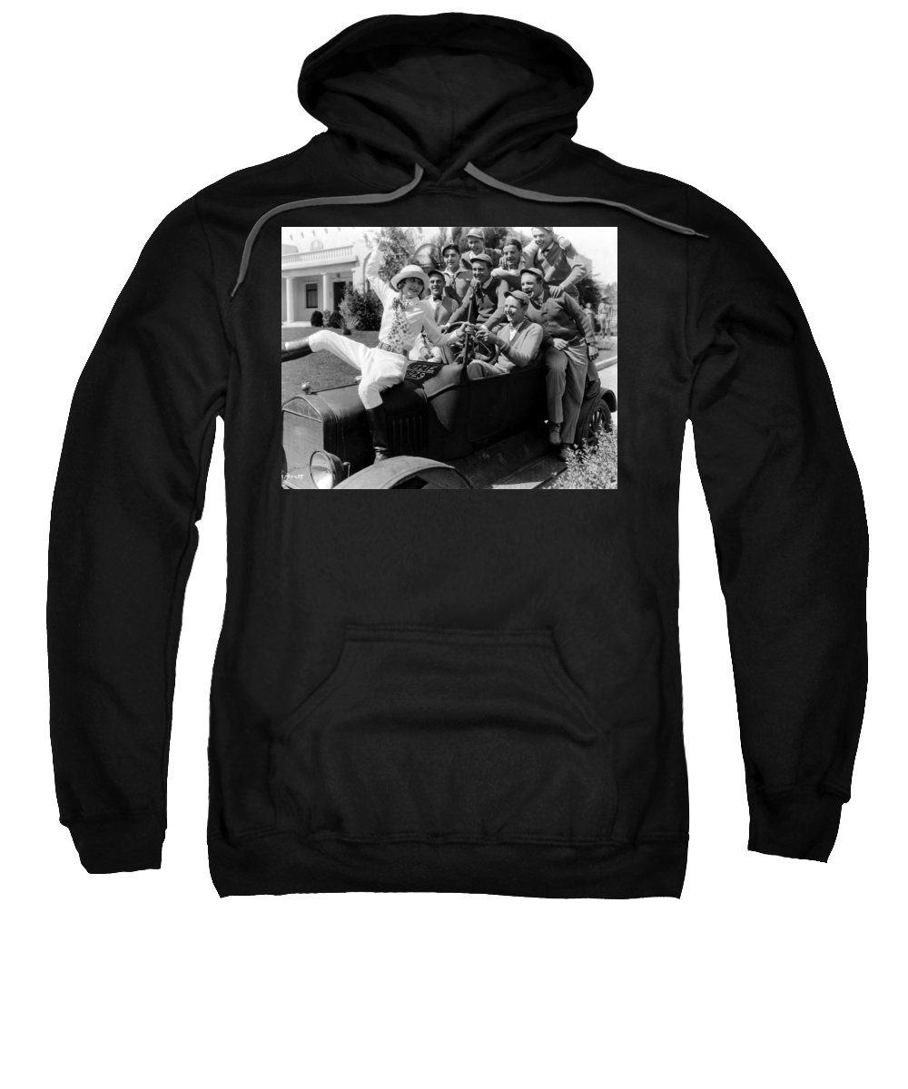 -college Youths- Sweatshirt featuring the photograph Silent Still: College by Granger