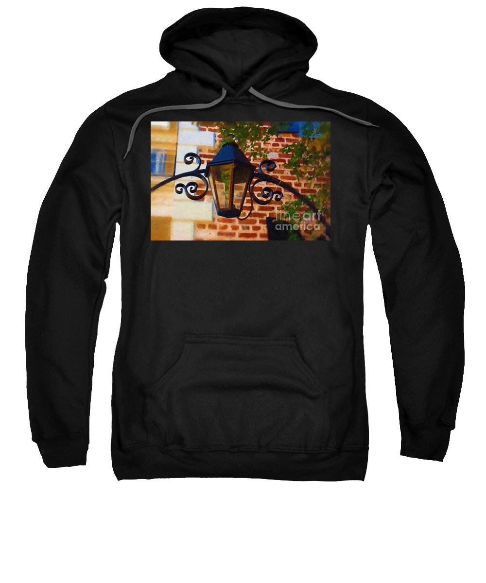 Light Sweatshirt featuring the photograph The Light Above by Donna Bentley