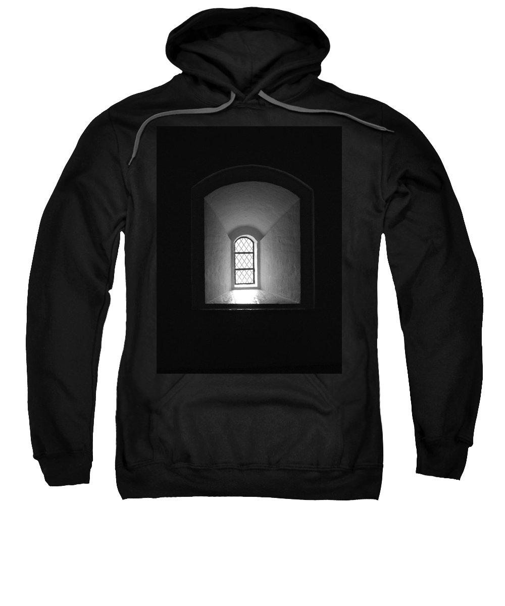 2012 Sweatshirt featuring the photograph The Window Of The Castle Of Tavastehus by Jouko Lehto