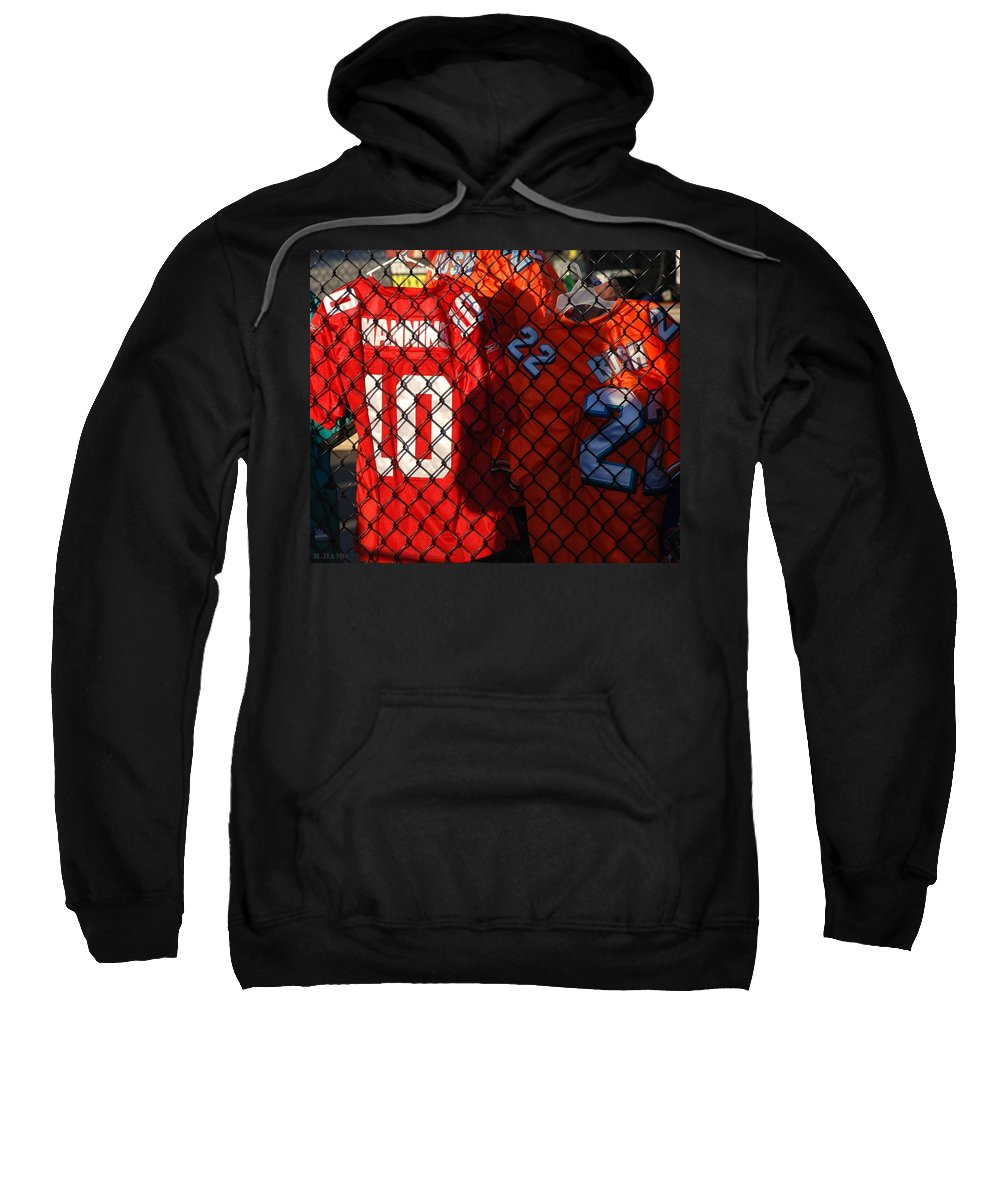 New York Giants Sweatshirt featuring the photograph 10 22 by Rob Hans