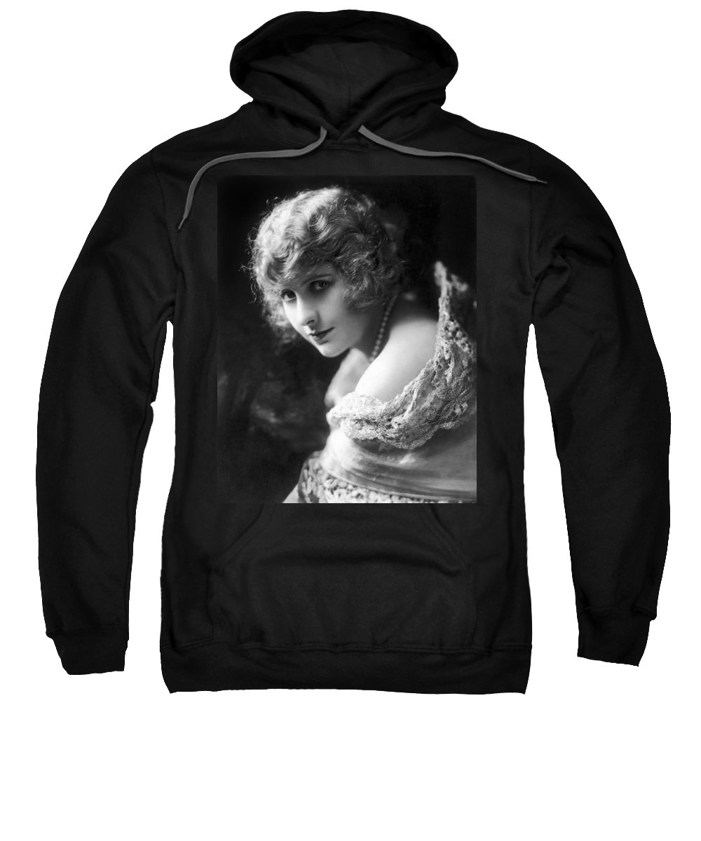 -nec13- Sweatshirt featuring the photograph Pearl White (1889-1938) by Granger