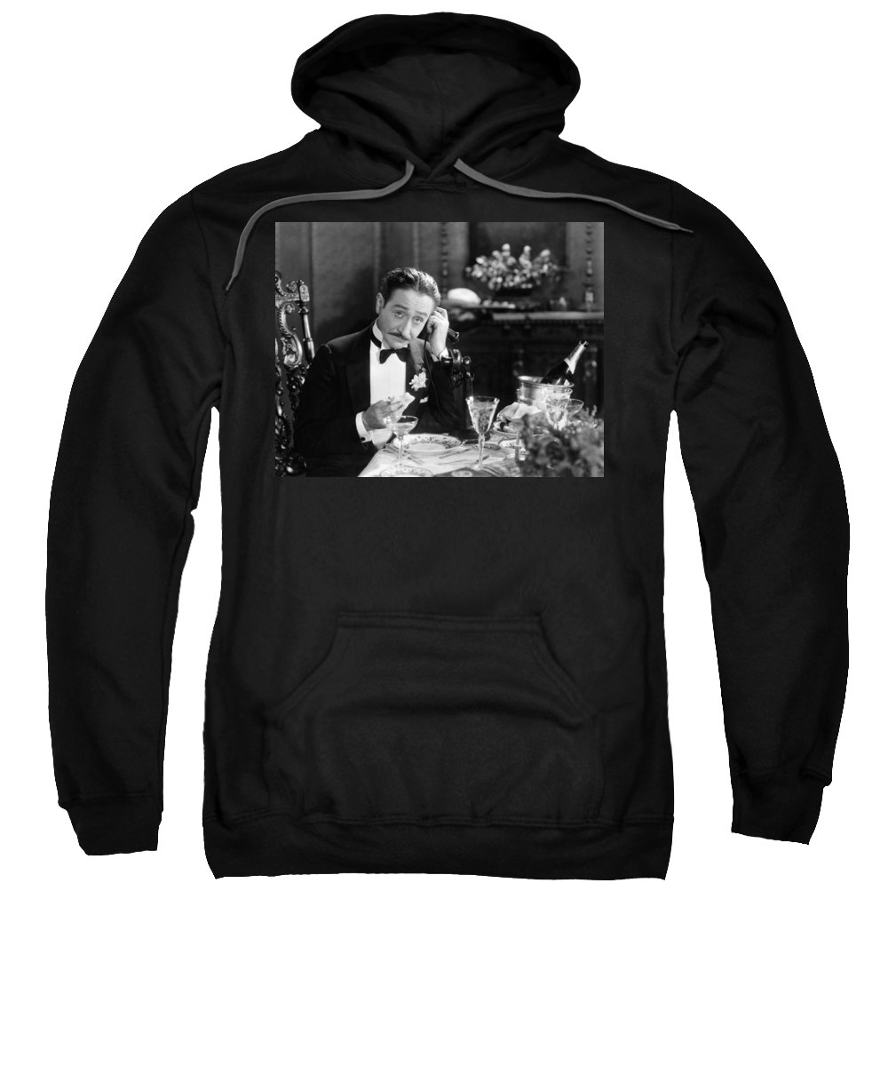 -telephones- Sweatshirt featuring the photograph Film Still: Telephones by Granger