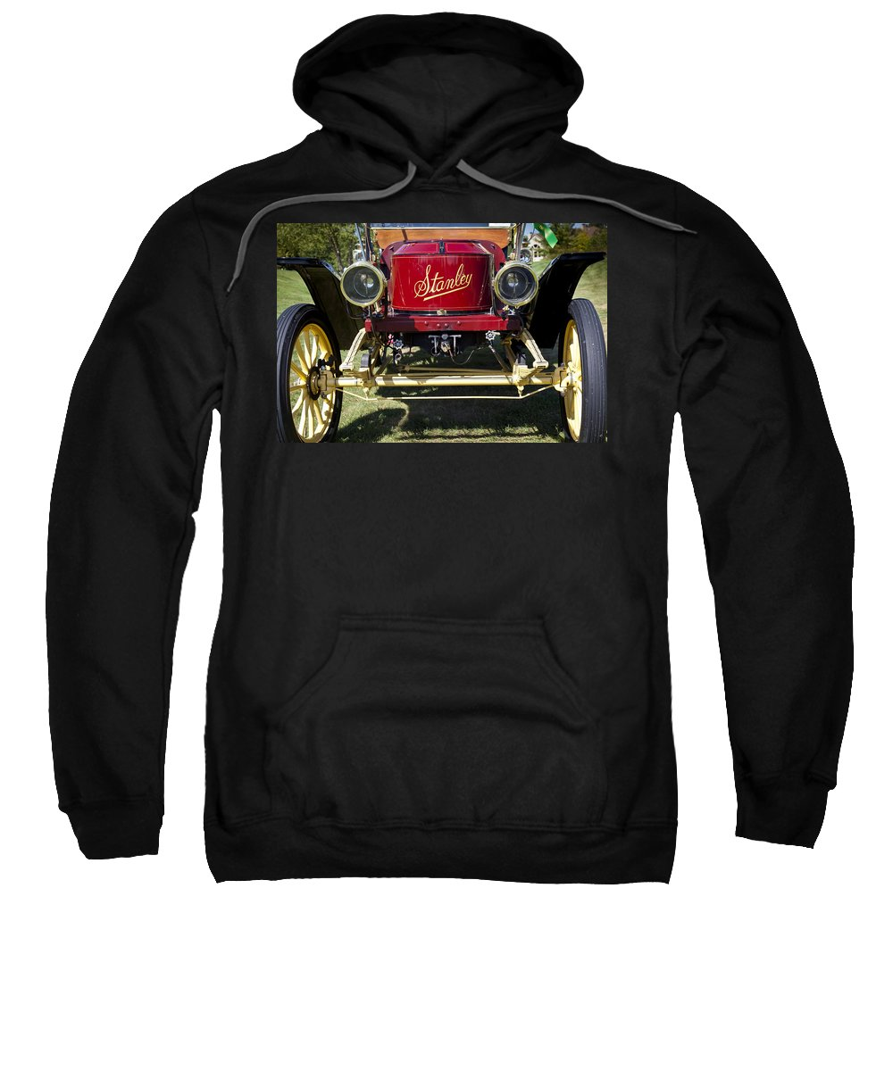 1910 Sweatshirt featuring the photograph 1910 Stanley Model 61 by Jack R Perry