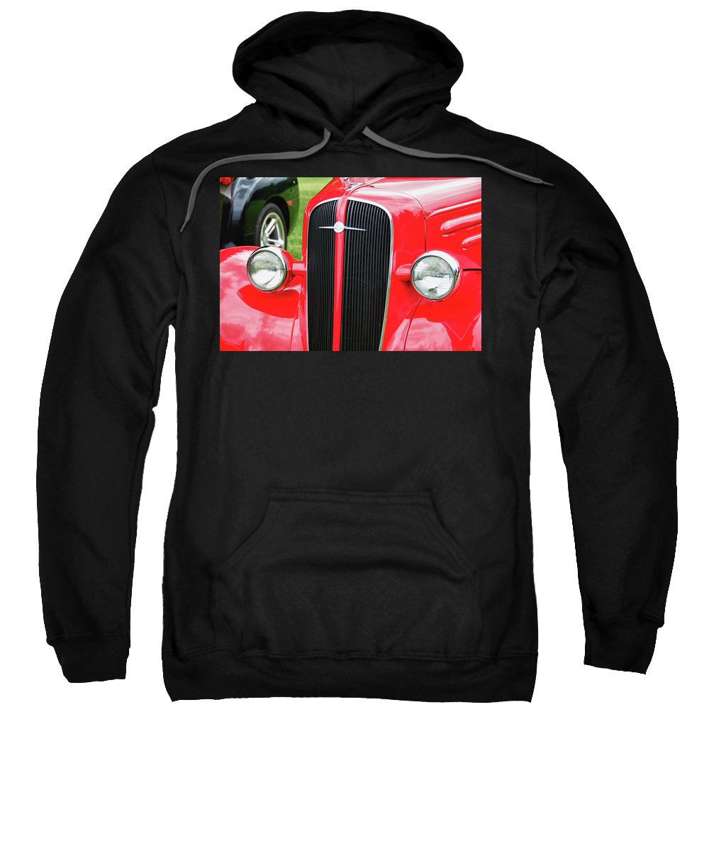 1936 Chevy Sweatshirt featuring the photograph 1936 Chevy 8552 by Guy Whiteley