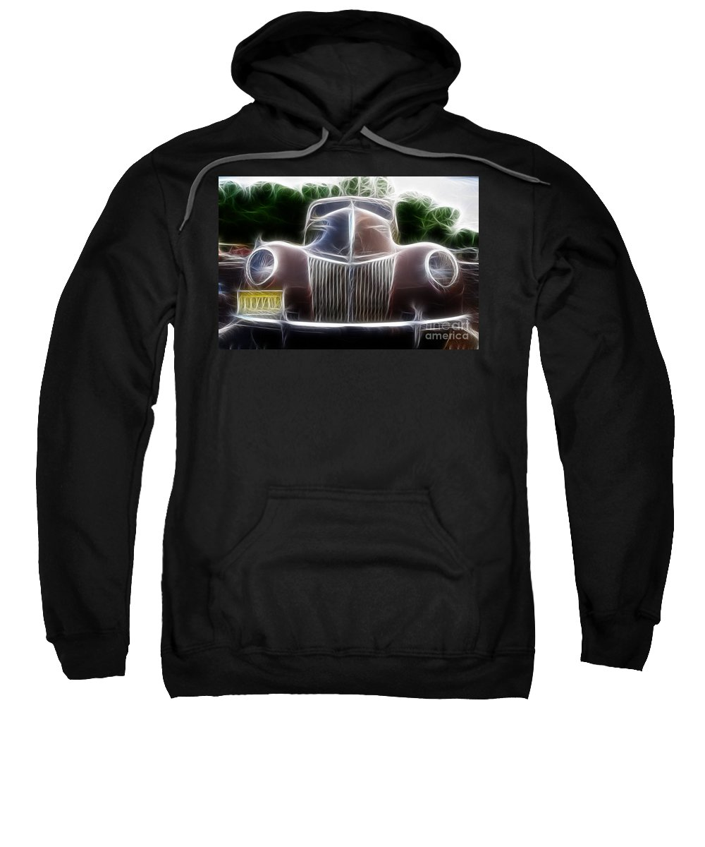 1939 Ford Deluxe Sweatshirt featuring the photograph 1939 Ford Deluxe by Paul Ward