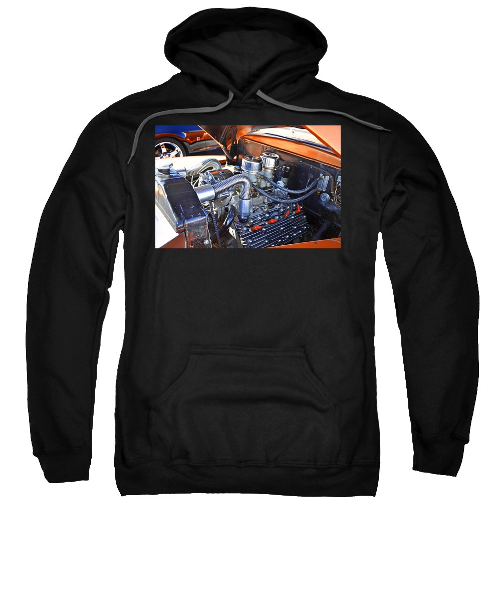 Flathead Sweatshirt featuring the photograph 1941 Flathead Ford by Paul Mashburn