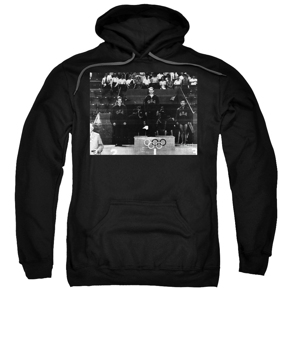 1948 Sweatshirt featuring the photograph Olympic Games 1948 by Granger