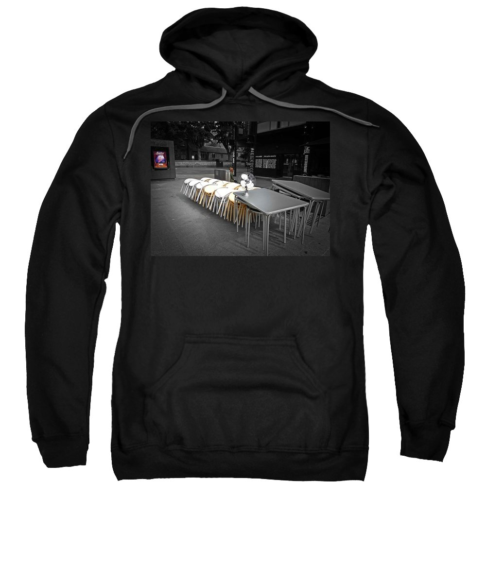 Playhouse Sweatshirt featuring the photograph Play by Charles Stuart