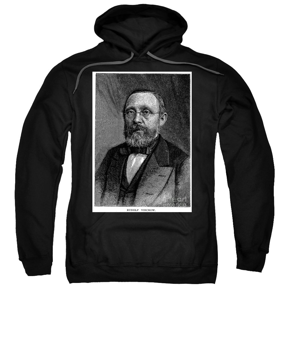 19th Century Sweatshirt featuring the photograph Rudolf Virchow (1821-1902) by Granger