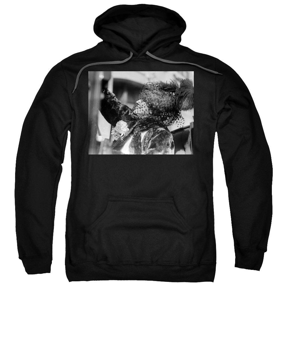 19th Century Sweatshirt featuring the photograph Sarah Bernhardt (1844-1923) by Granger