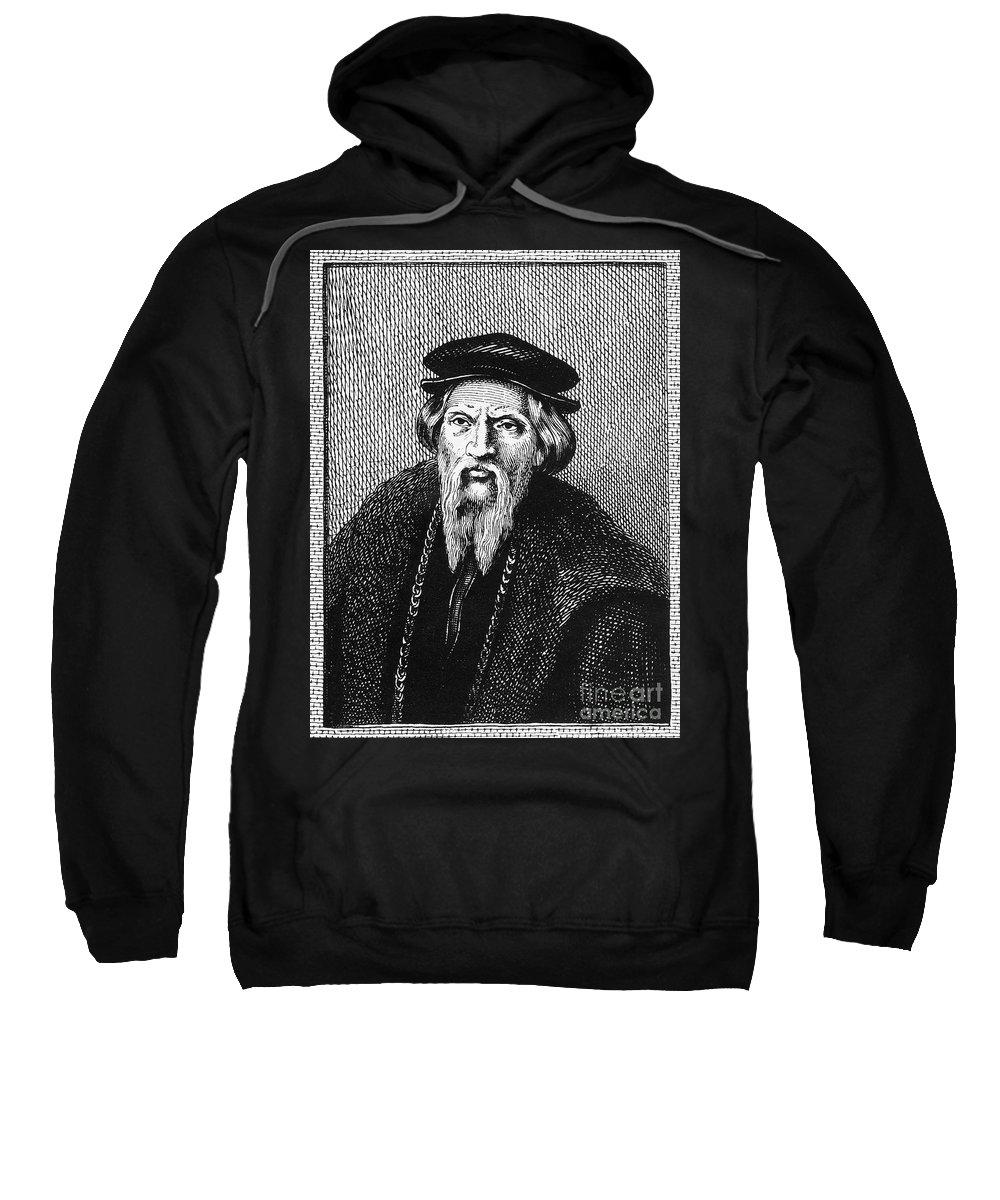 16th Century Sweatshirt featuring the photograph Sebastian Cabot by Granger