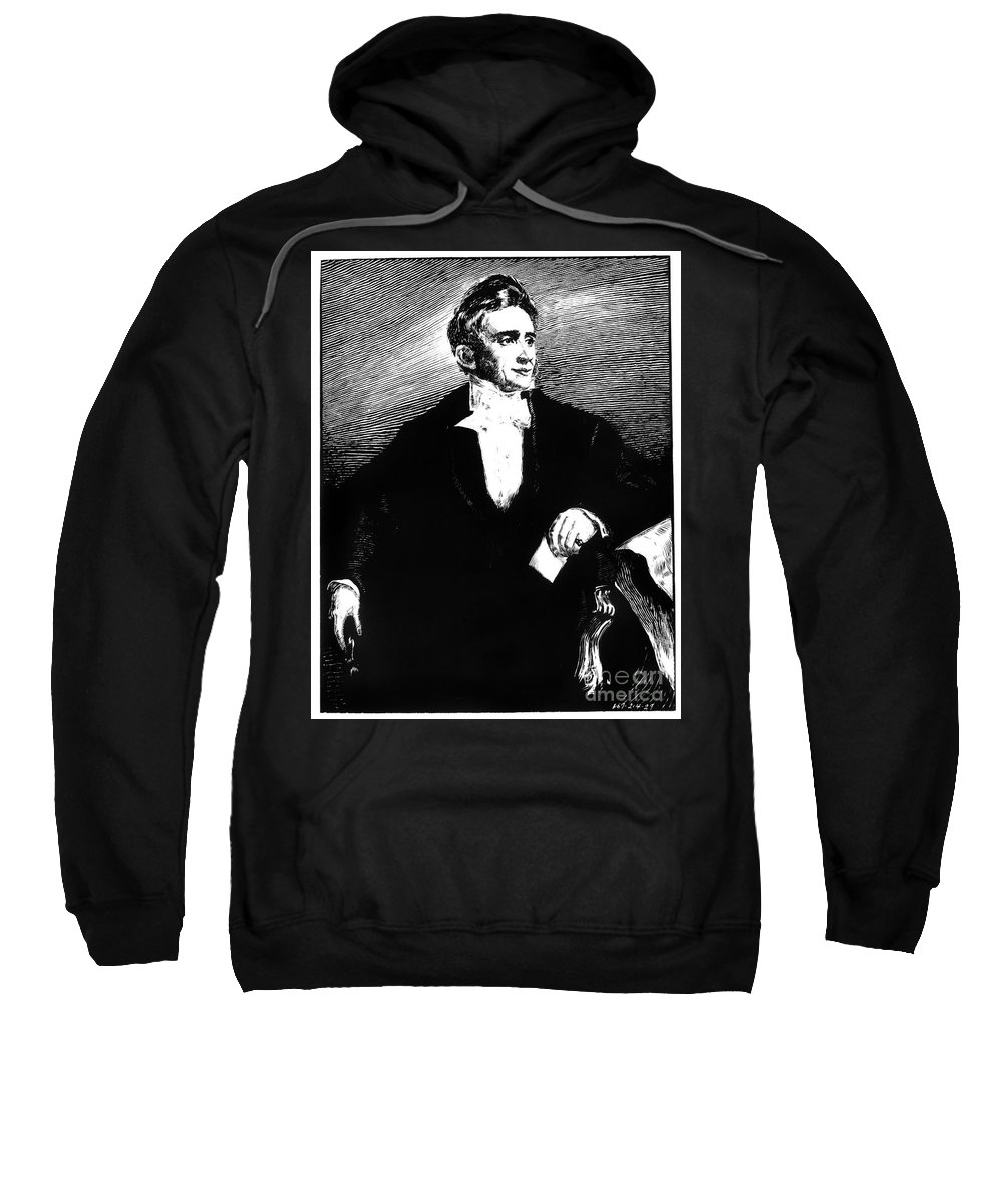 19th Century Sweatshirt featuring the photograph Charles Goodyear by Granger