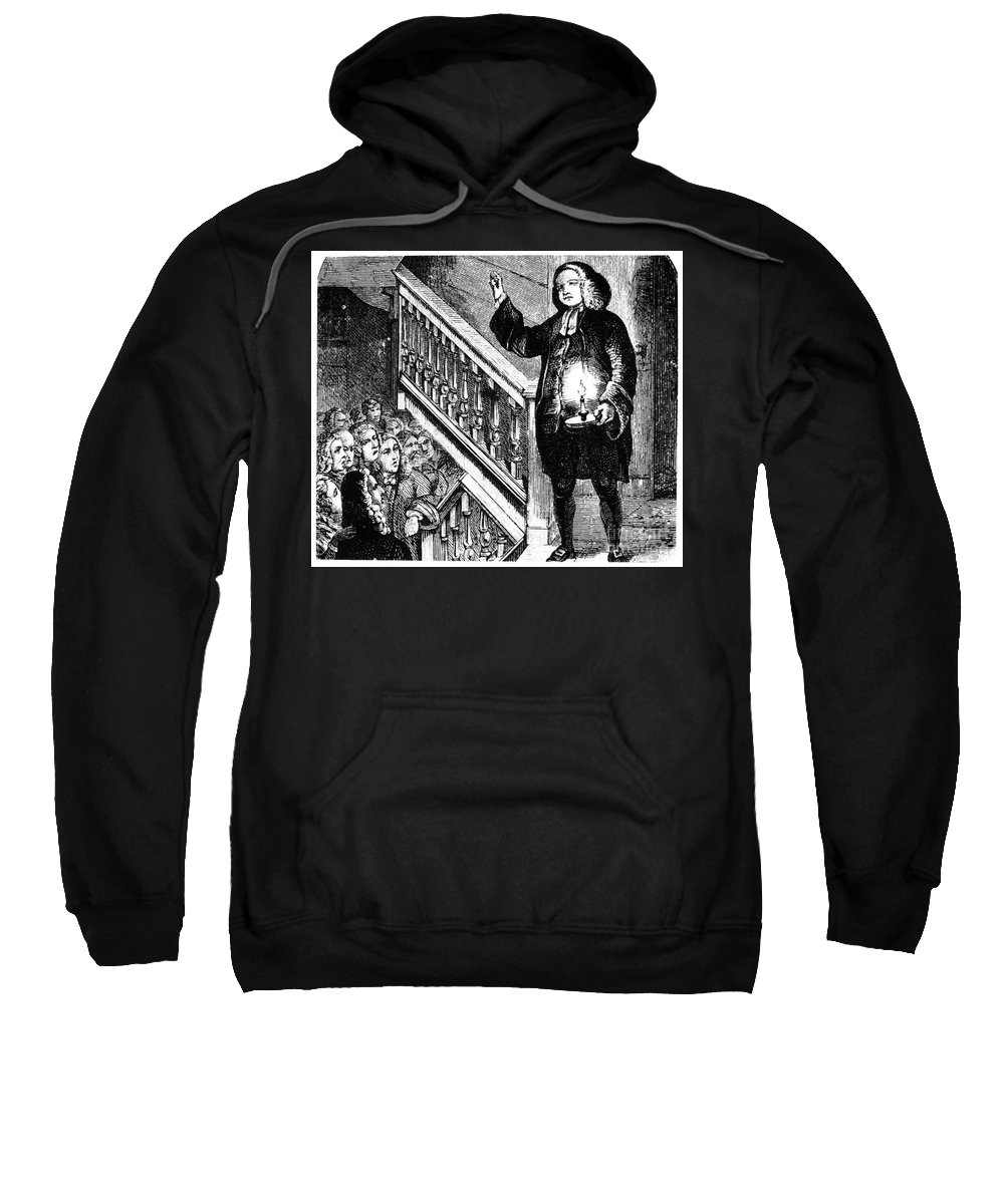 1770 Sweatshirt featuring the photograph George Whitefield by Granger