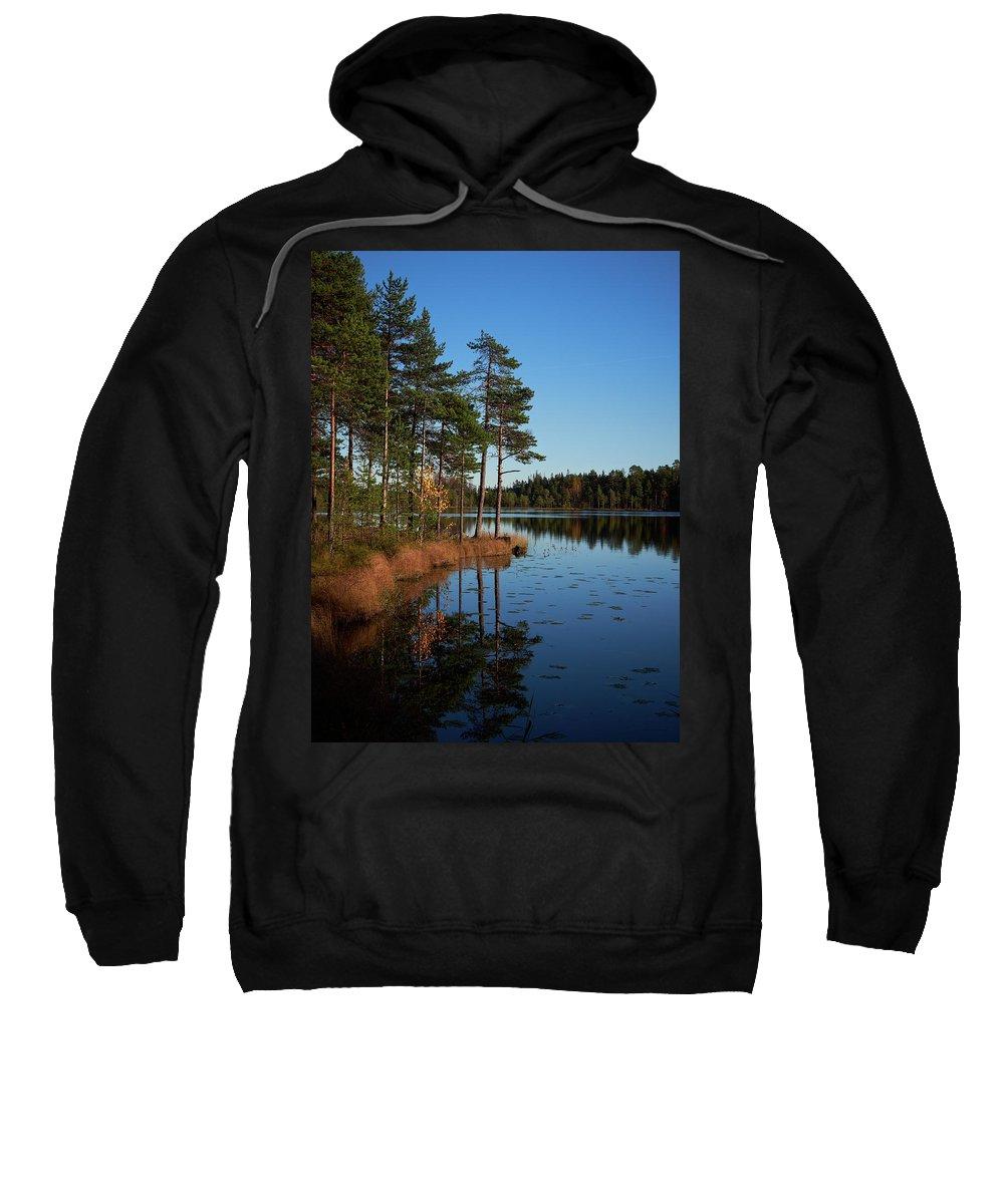 Autumn Sweatshirt featuring the photograph Fall At Saari-soljanen by Jouko Lehto
