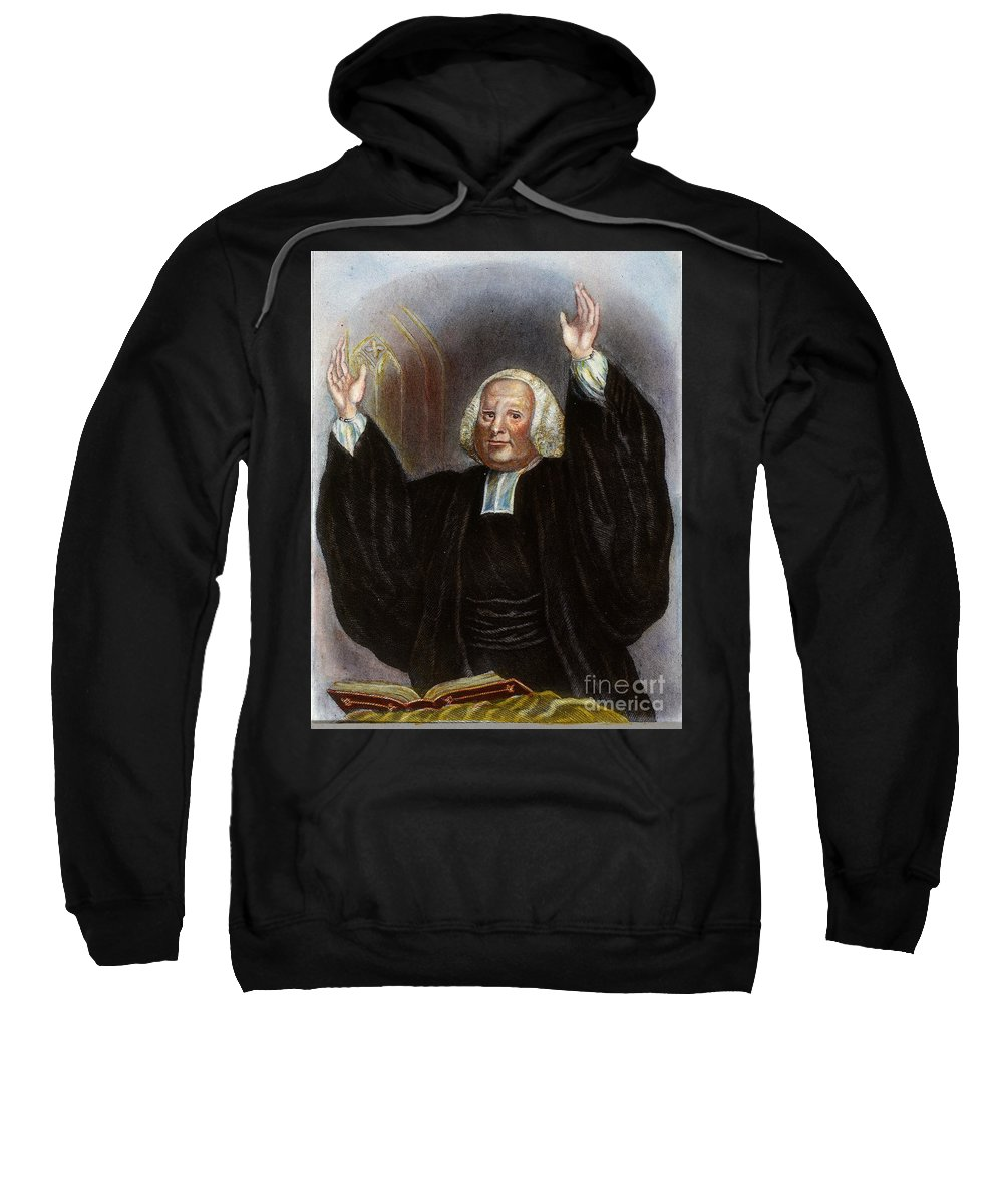 18th Century Sweatshirt featuring the photograph George Whitefield by Granger