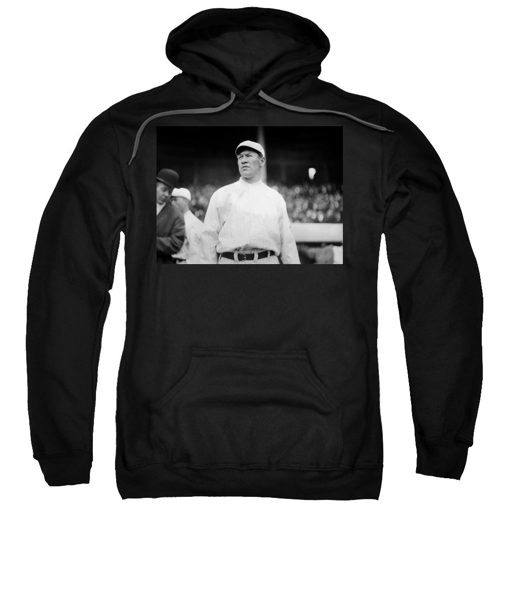 1913 Sweatshirt featuring the photograph Jim Thorpe (1888-1953) by Granger