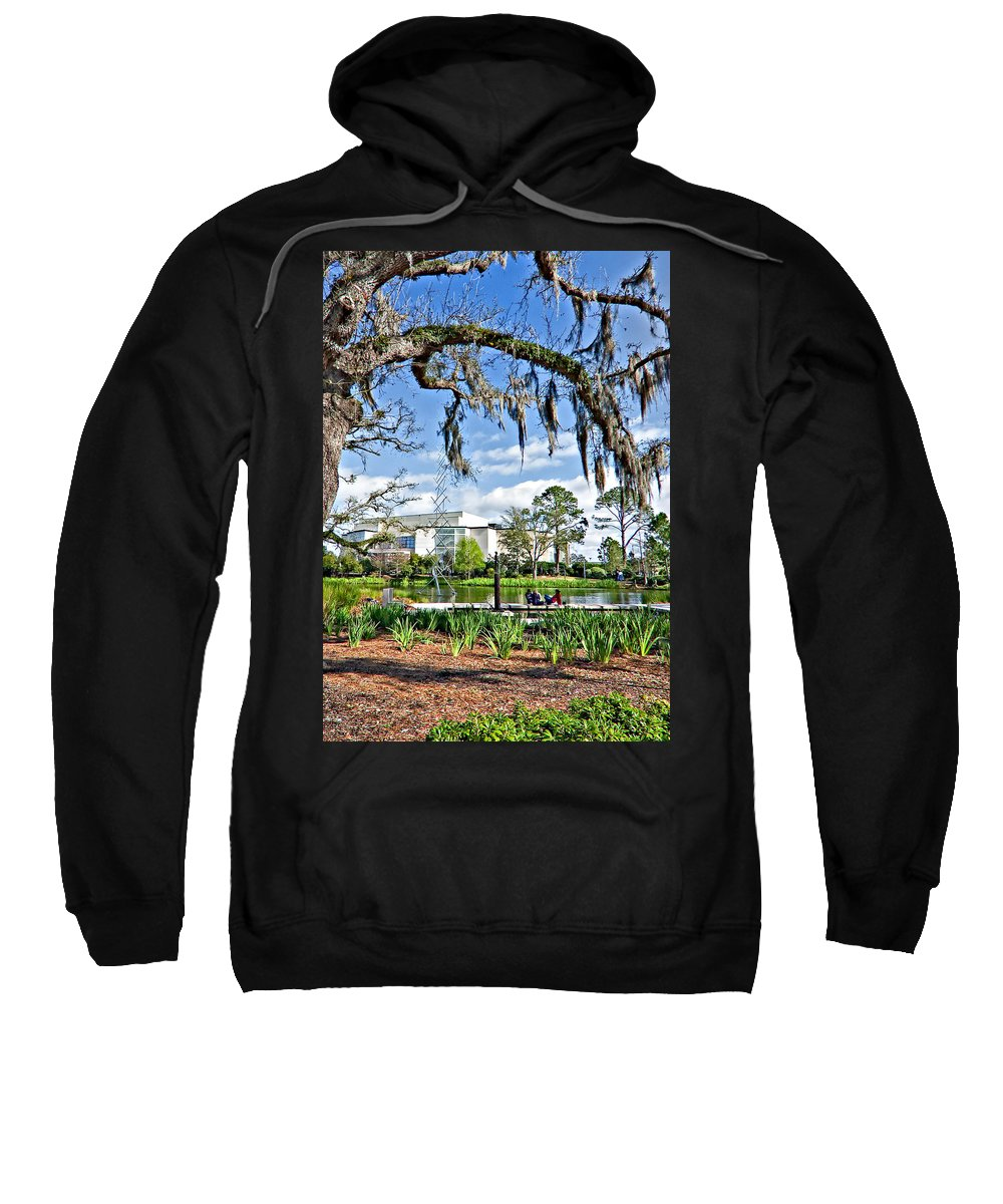 New Orleans Sweatshirt featuring the photograph A Gentle Afternoon by Steve Harrington