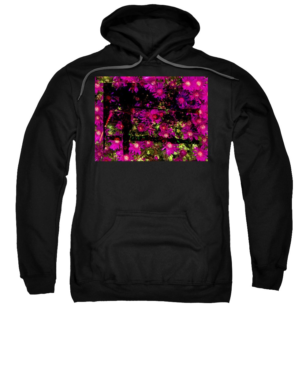 Abstract Sweatshirt featuring the photograph A Glimpse Into Heaven by Lenore Senior