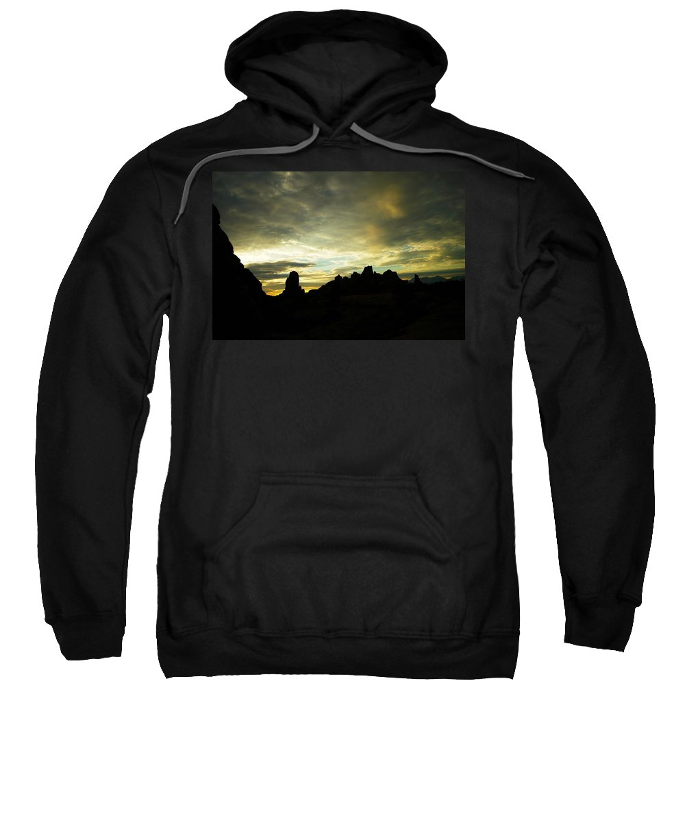 Rocks Sweatshirt featuring the photograph A Magic Moment by Jeff Swan