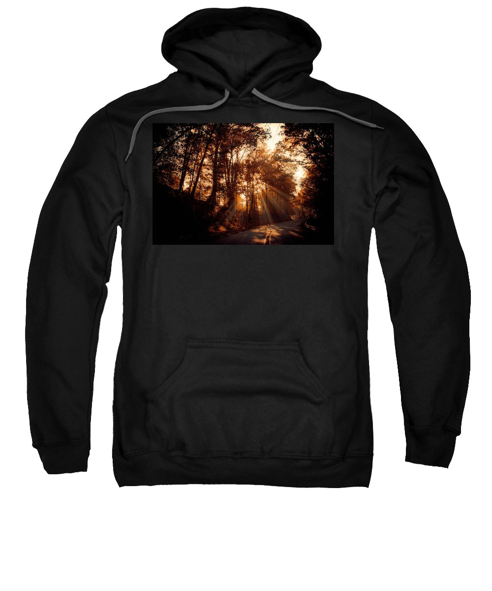 Ray Sweatshirt featuring the photograph A New Dawn by Trish Tritz