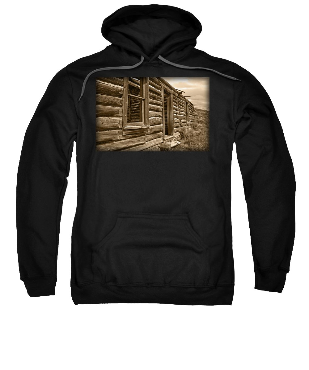 House Sweatshirt featuring the photograph Abandoned by Shane Bechler