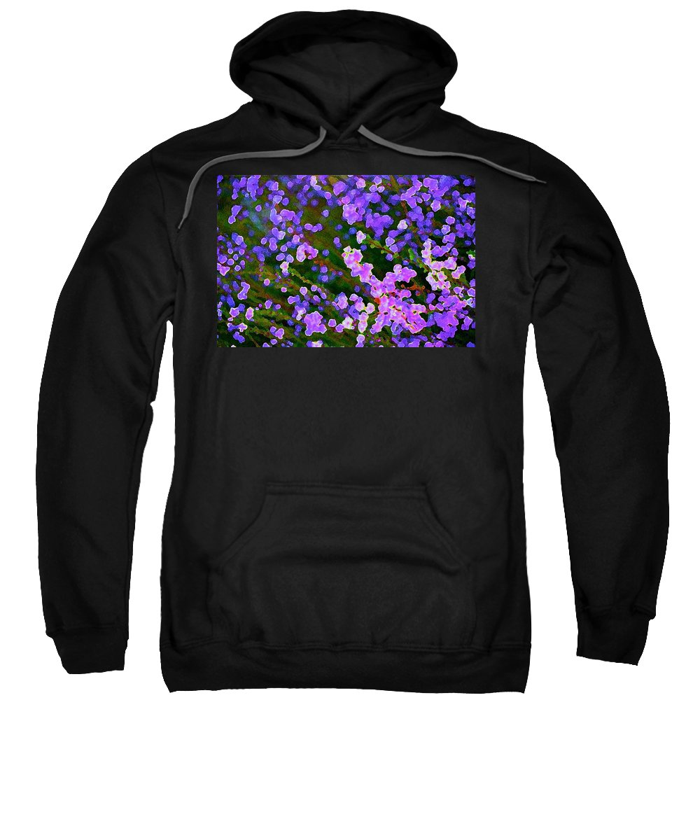Abstract Sweatshirt featuring the photograph Abstract 207 by Pamela Cooper